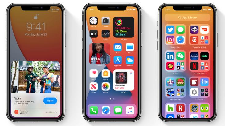 Apple lançon iOS 14.2