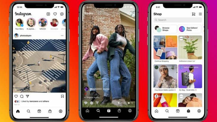 Facebook lançon reklamat në Instagram Reels