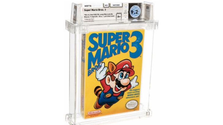 Një kopje e Super Mario Bros është loja më e shtrenjtë e shitur ndonjëherë