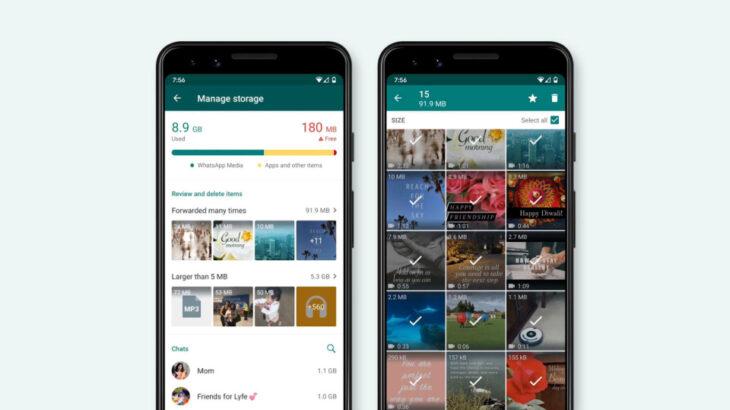 WhatsApp e bën më të lehtë fshirjen e përmbajtjeve të parëndësishme