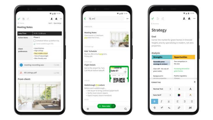 Pamja e re e Evernote në Android kërkon të ndryshojë fatin e kompanisë