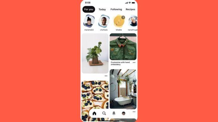 """Pinterest bëhet aplikacioni i radhës që adopton formatin """"Stories"""""""