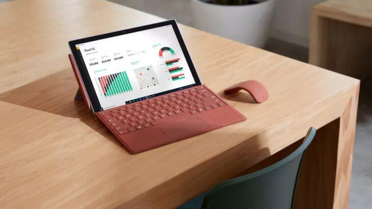 Linja Surface Pro 7 pasurohet me një model të ri