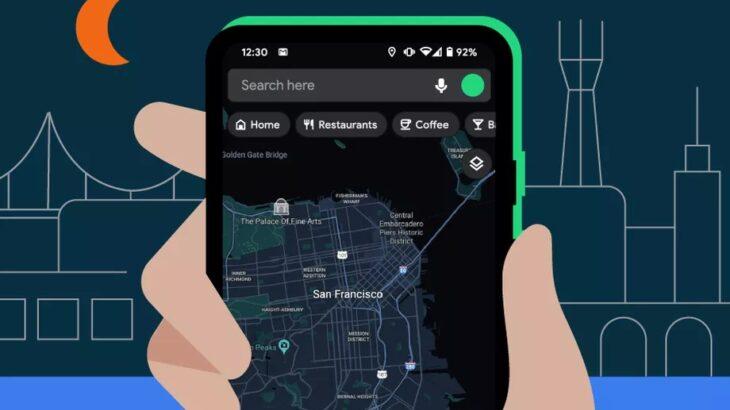 Google Maps sjellin ndërfaqen e shumëpritur vizuale