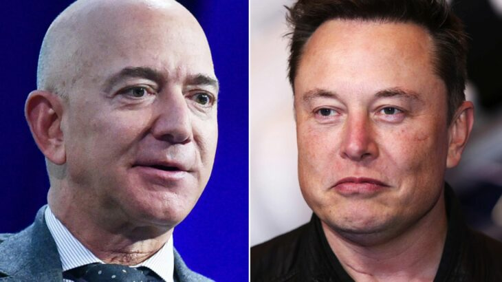Bezos dhe Musk ndërrojnë vendet në listën e njerëzve më të pasur në botë