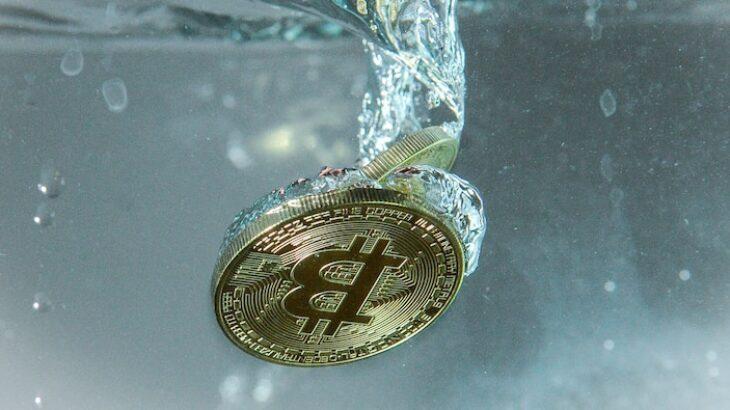 Bitcoin humbet 10% të vlerës