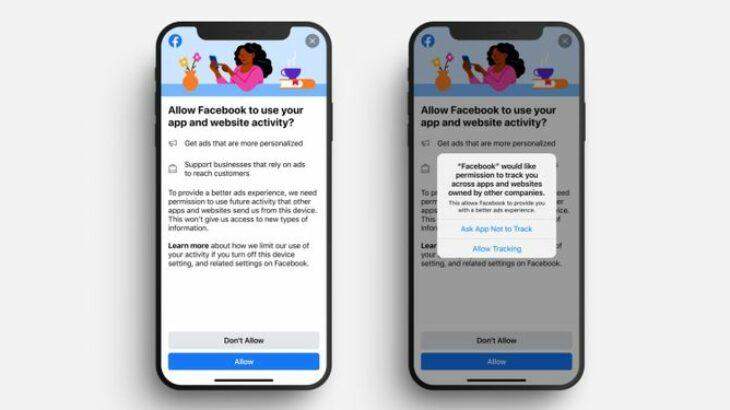 Facebook kërkon që përdoruesit e iPhone dhe iPad të pranojnë gjurmimin