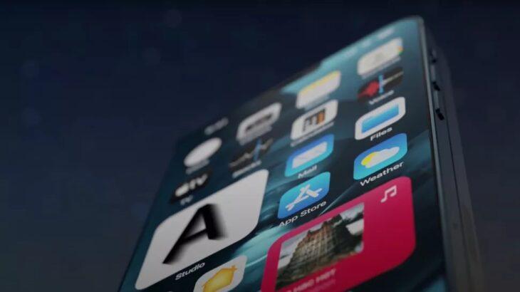 Ja sesi do të ngjante një iPhone me ekran me palosje