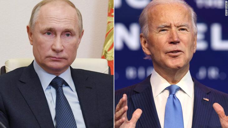 Putin fton Biden në debat në internet