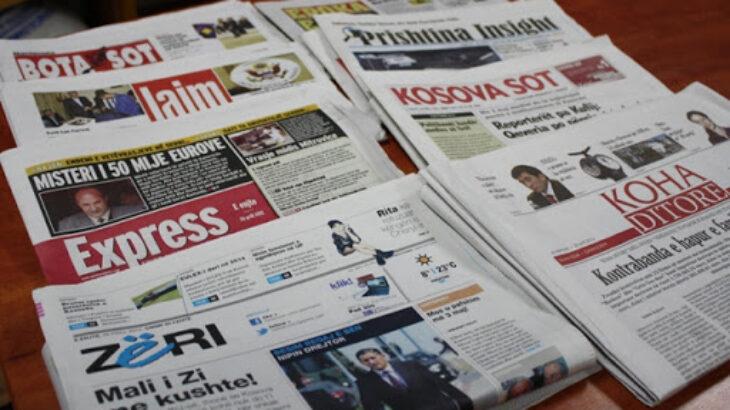 Kosova mbetet pa asnjë gazetë të shtypur