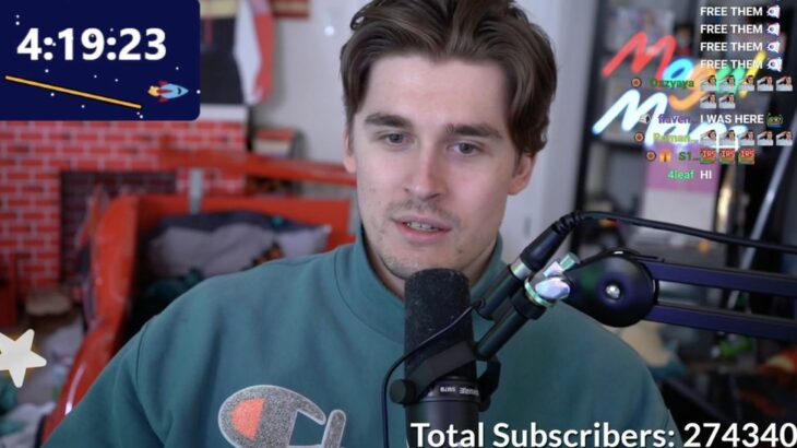 25 vjeçari thyen rekordin e transmetimeve në Twitch