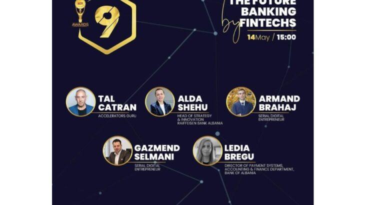 """ICT Awards dhe Banka Raiffeisen organizojnë takimin virtual me temë  """"Bankingu i së Ardhmes nga Fintech"""""""