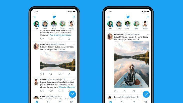 Twitter ndryshon mënyrën sesi shfaqen imazhet