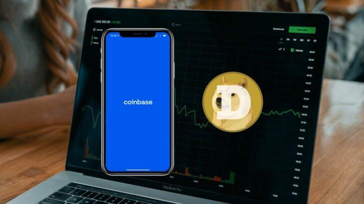 Dogecoin hyn në platformën e Coinbase