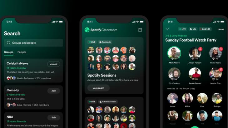 Greenroom është përgjigja e Spotify ndaj Clubhouse