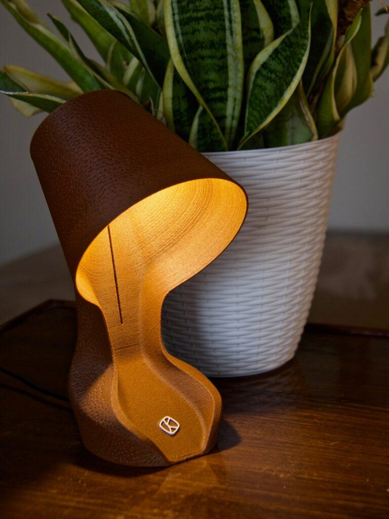 Gear Ohmie Orange Peel Lamp lifetsyle
