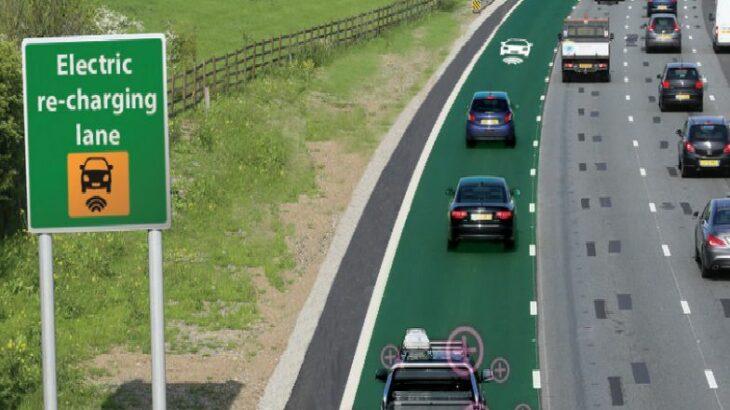 Rrugë që karikojnë makinat elektrike në lëvizje një hap larg realitetit