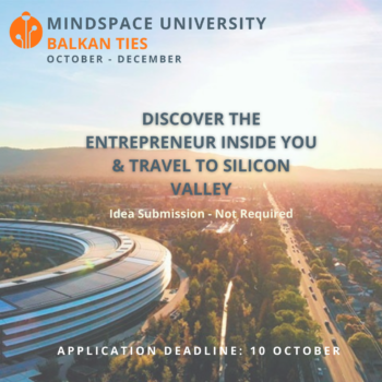 Mindspace University, një program online sipërmarrjeje për të rinjtë e Ballkanit