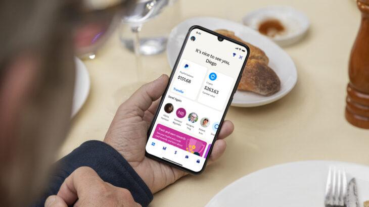 PayPal shndërron aplikacionin në një bankë virtuale