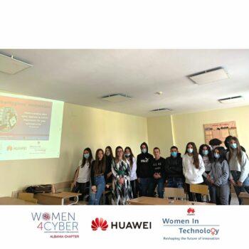 Huawei dhe Woman4Cyber Albania vijojnë aktivitetet për sigurinë kibernetike