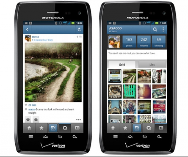 3. Instagram për Android