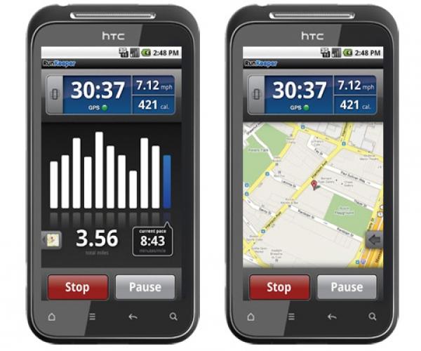 6. RunKeeper për Android