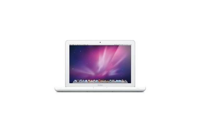 1. Apple White MacBook