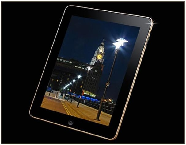 10 Gold iPad Supreme - 190,000 $