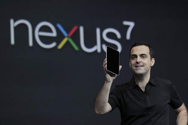 8. Google Nexus 7, 2012
