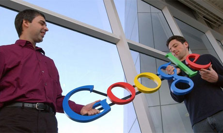 Larry Page dhe Sergey Brin