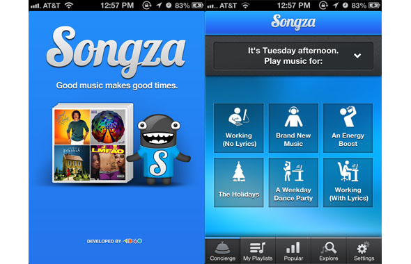 Songza (pa pagesë)