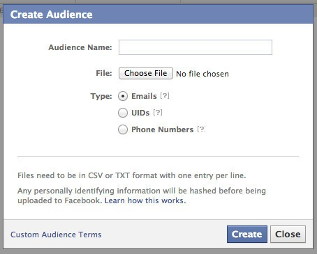 Custom Audiences