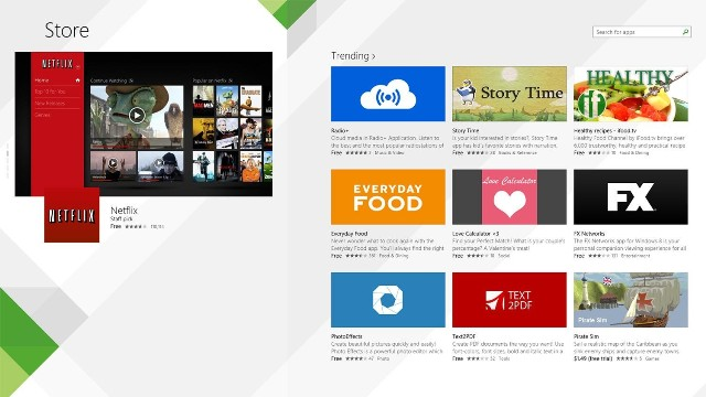 Përmirësimi i dyqanit on line Windows Store