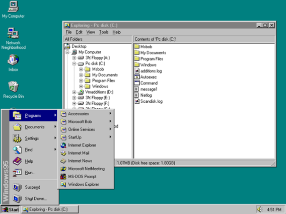 2. Windows 95