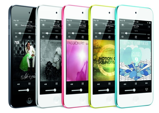 Apple iPod touch, 5th generation (digital media player)