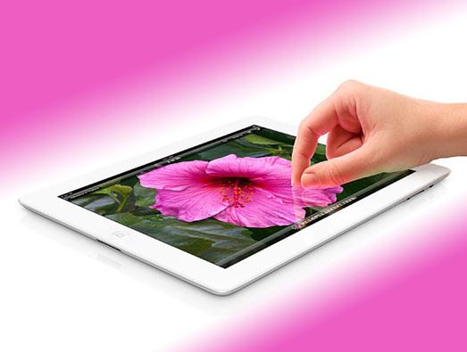 iPad 3 do të ketë ndjeshmëri për copa të veçanta