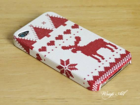 5. Christmas Reindeer iPhone 4 Case