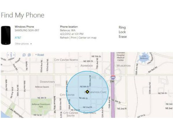 Find My Phone (WP8)