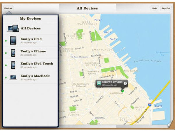 Find My iPhone (iOS)