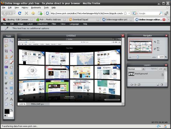 3. Pixlr (web-based)