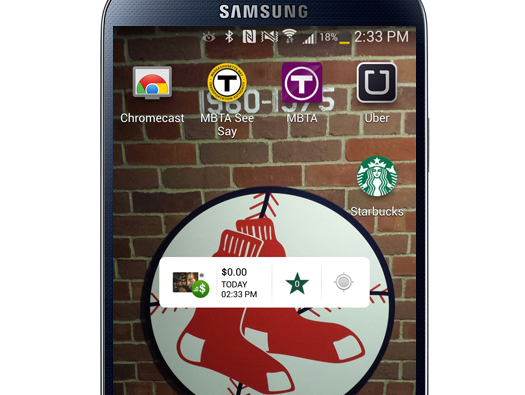 Starbucks Card Widget për Android