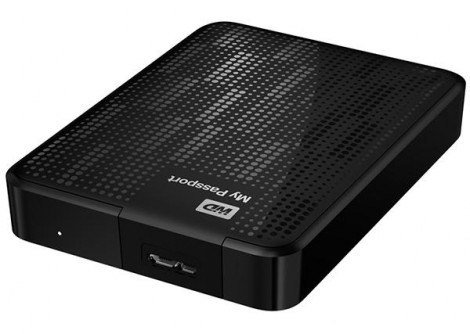 Western Digital My Passport 2TB Drive  (portable hard drive)