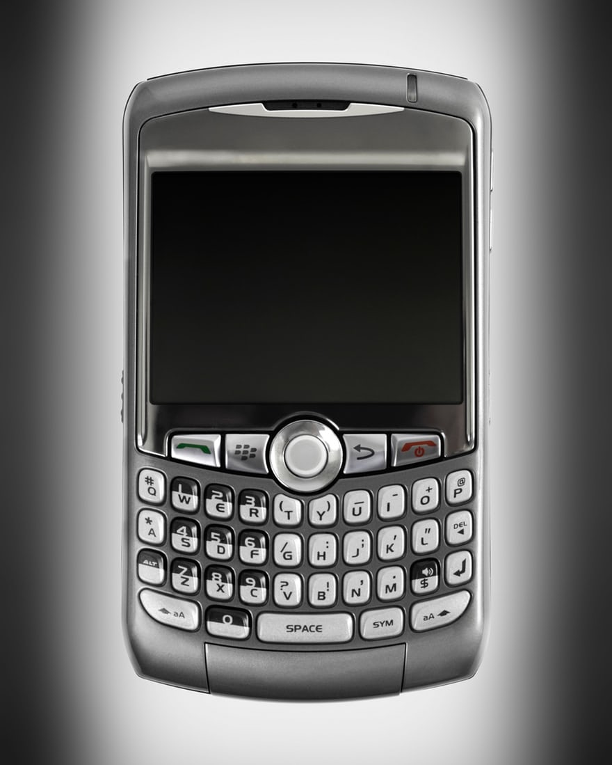 BlackBerry Curve, 2007
