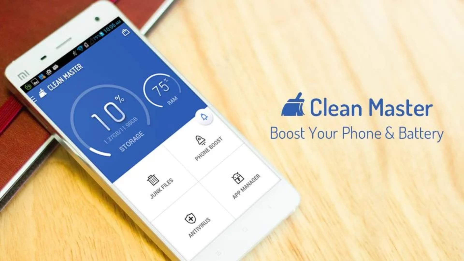 LionMobi Power Battery dhe CleanMaster