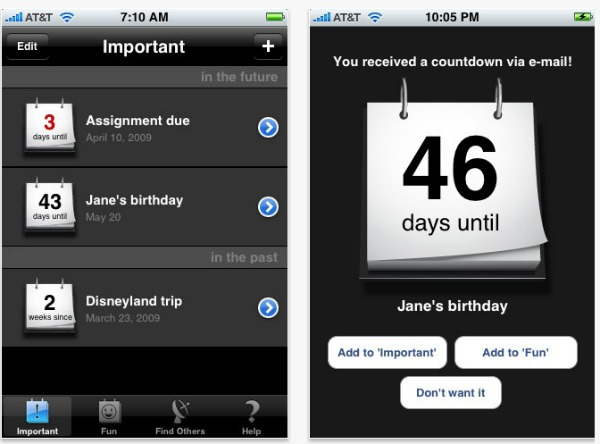 4. Countdown Calendar
