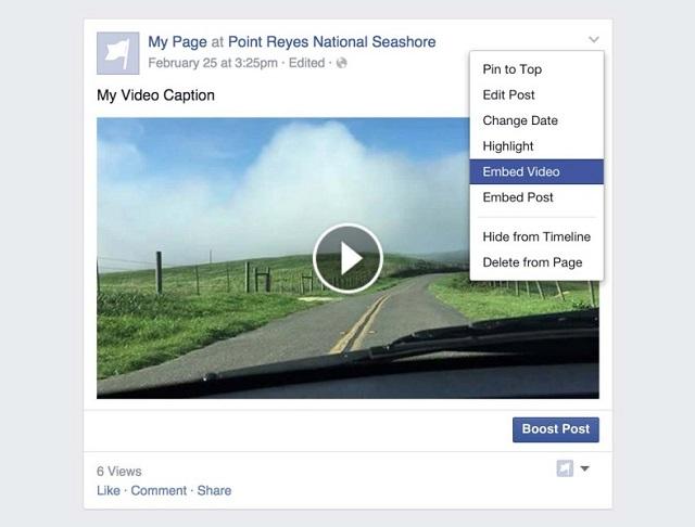 Facebook lançoi një mënyrë të re që e bën më të lehtë shpërndarjen e videove