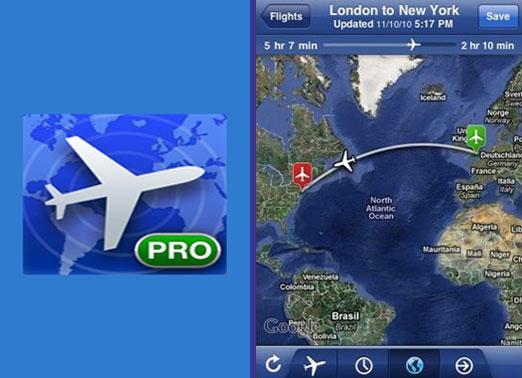 FlightTrack Pro: gjurmues për linjat e avionëve