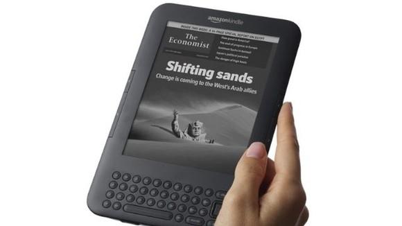 3. Amazon Kindle - 2007