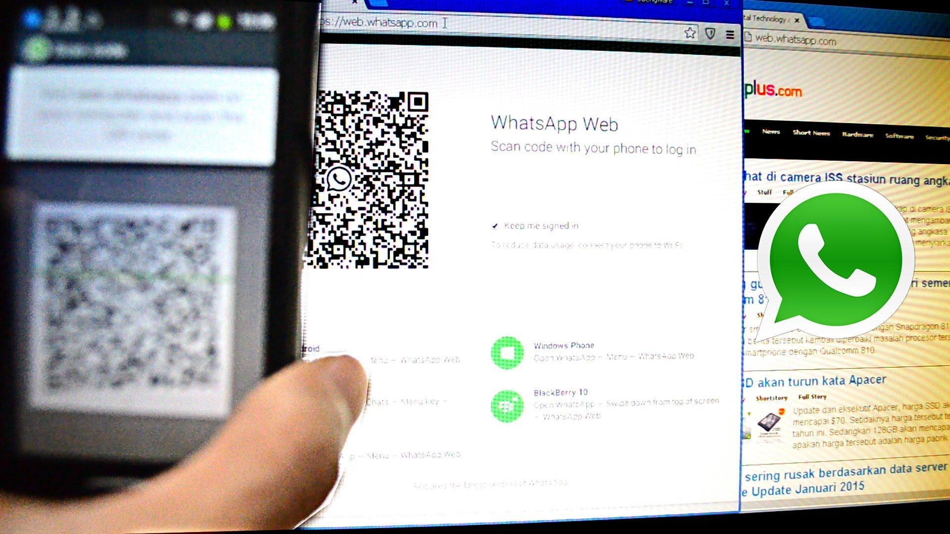 Përdorni WhatsApp në kompjuter