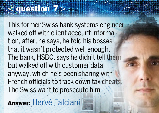 Përgjigja: Herve Falciani